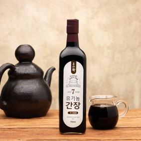고스락 유기농 7년숙성 간장 750ml